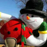 85 Inflatables & Counting: Wayne Christmas Home Delights With Holiday Decor