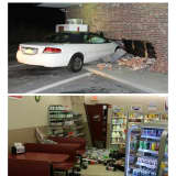 Woman Charged With Felony DWI After Crashing Car Into Goshen Stewart's Shop