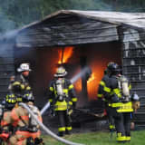 Saddle River Barn Fire Poses Challenges