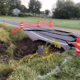 Sinkhole Opens, Closing Major Roadway In Lancaster County