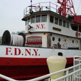 FDNY Boat Turning Into Sleepy Hollow Restaurant