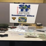 Bridgeport Man Stopped With Loaded Gun, Ammo And Drugs In Car