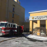Danbury Firefighters Tackle Blaze In Elevator Shaft At La Quinta Hotel