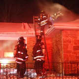 Homeowner, Police Officer Sent To Hospital After Fire In Easton House