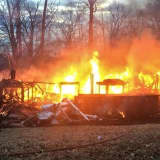 Raging Fire That Destroyed Vacant Upper Saddle River Home Not Suspicious
