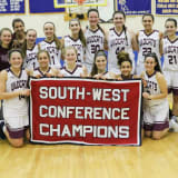 Bethel Girls Celebrate First Conference Basketball Title