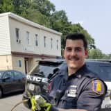 To The Rescue: Police Officers Help Corral Loose Iguana In Hudson Valley