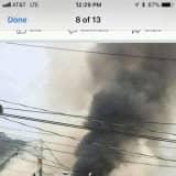 Four-Alarm Restaurant Fire Causes Route 22 Closure Near Fairfield Border