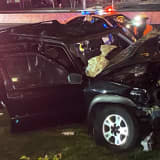 Several Injured In Route 17 Crash