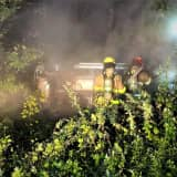 HERO: Passing West Milford Firefighter Rescues Trapped Driver In Burning SUV