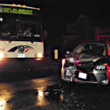 Ridgewood Bus Crash Sends One To Hospital