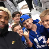 OBJ Snaps Selfies With Fans At ShopRite Wallington