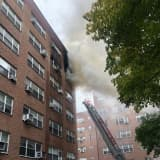 Three-Alarm Eastchester Seven-Story Blaze Forces Garth Road Closure
