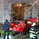Driver At Large After Fleeing From Crash In Northern Westchester