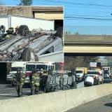 One Hospitalized In Route 80 Woodland Park Crash