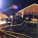 Fire Breaks Out At Trumbull Home