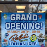 Grand Opening Set For New Ralph's  Italian Ices & Ice Cream Shop In Mamaroneck
