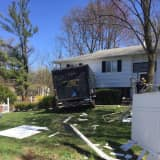Truck Crashes Into Home In New City