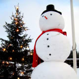 Somers Library Plans Snowman-Building Contest