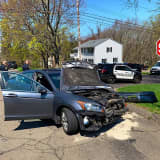 Two Injured In Trumbull Head-On Crash
