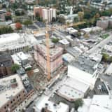 Progress Steady At Site Of 28-Story New Rochelle High Rise Development