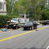 Two-Car Crash Causes Road Closure In Congers