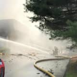 120 Firefighters Battle Massive Blaze At Business In Bethel