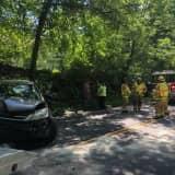 One Injured In Weston Crash