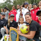 Port Authority Police Buy Uniforms For Newark Girls Soccer Players