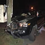 Man Faces DWI Charge After Crashing Into Utility Pole In Rockland