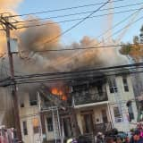 Fire Rages At Elizabeth Multifamily Home; Smoke Seen For Miles