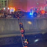 Firefighters Rescue Man Who Fell From Bridge Into Elizabeth River (PHOTOS, VIDEO)