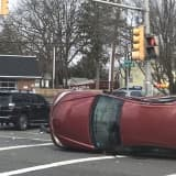 Sedan, SUV Collide In New Milford