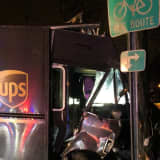 Teaneck PD: Drunk UPS Driver Crashes, Flees, Leaving Injured Woman Behind