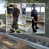 HERO: Firefighter Rescues Suicidal Woman From Route 17 Overpass Leap