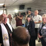 Cardinal Dolan Offers Blessing For The New Temporary Emergency Department At Bon Secours