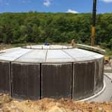 Eureka Water Tank In Bethel Nears Completion