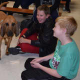 K9 Super Sleuth Meets Fox Meadow Students