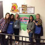 Bronxville School Staff Volunteer Monthly At New Rochelle Center