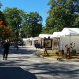 Crowds Turn Out For Annual Arts Festival At Greenwich's Bruce Museum
