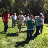 North Salem's Community Based Services Visits Birdstone Farm