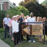 RILC Re-Entry Program Dedicates New Sign To Charity In Haverstraw