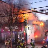 PHOTOS/VIDEO: Fire Ravages Cliffside Park Market