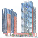 New Rochelle Redevelopers Propose Twin 28-Story Towers