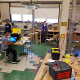 Clarkstown North Students Prepare For Regional Robotics Competition