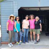 Community Foundation Staff Help Out At Humane Society In New Rochelle