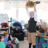 Colonial Man Brings History To Life At Pocantico Hills School