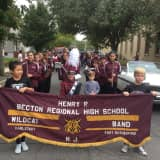 Becton Marching Band Performs In Annual East Rutherford Parade