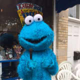Cookie Monster Spotted Outside Longford's In Rye