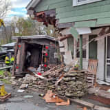 Garbage Truck Crashes Into Home In Region
